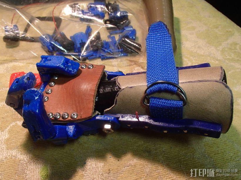 假肢 机械手 3D模型  图5