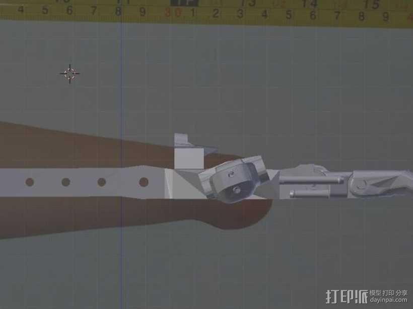 假肢 机械手 3D模型  图17