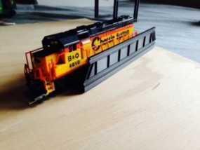 火车轨道 桥  3D模型