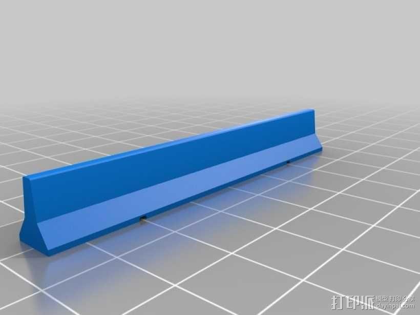 临时路障 3D模型  图2