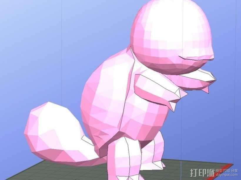 杰尼龟  3D模型  图4