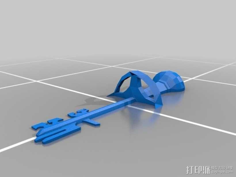 天际 钥匙 3D模型  图2