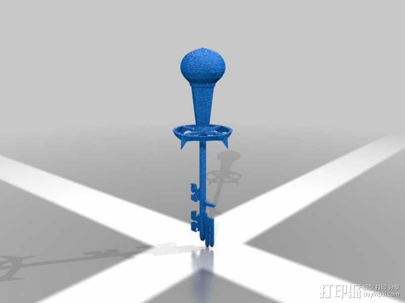 天际 钥匙 3D模型  图3