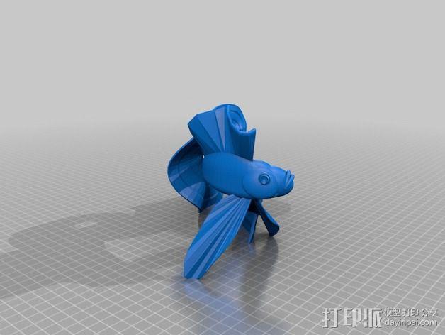 金鱼 3D模型  图2