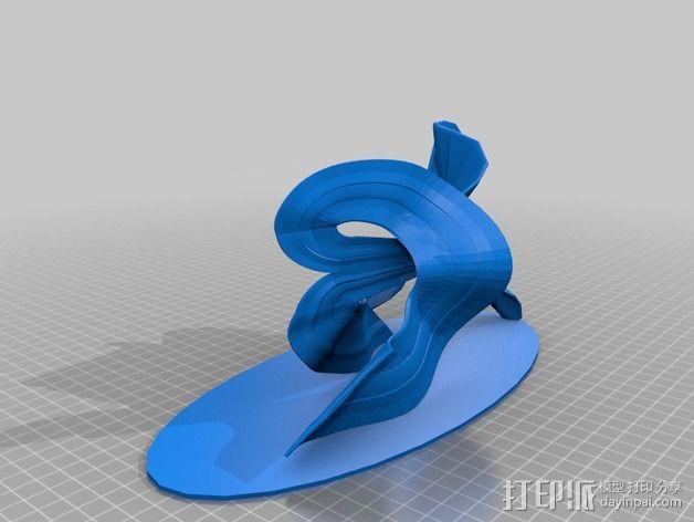 金鱼 3D模型  图3
