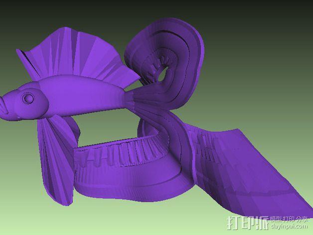 金鱼 3D模型  图4