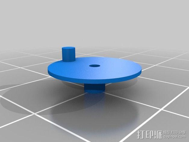 机械齿轮 3D模型  图4
