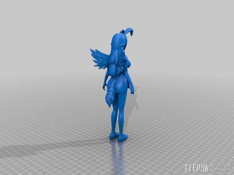 漫画少女Beniko 3D模型  图2