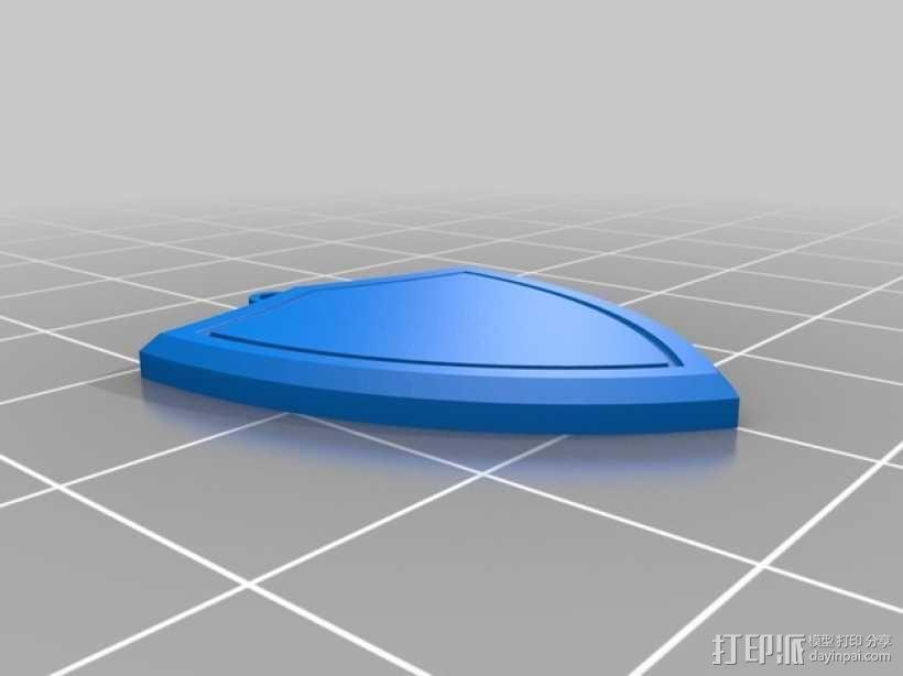 龙头壁挂 3D模型  图3