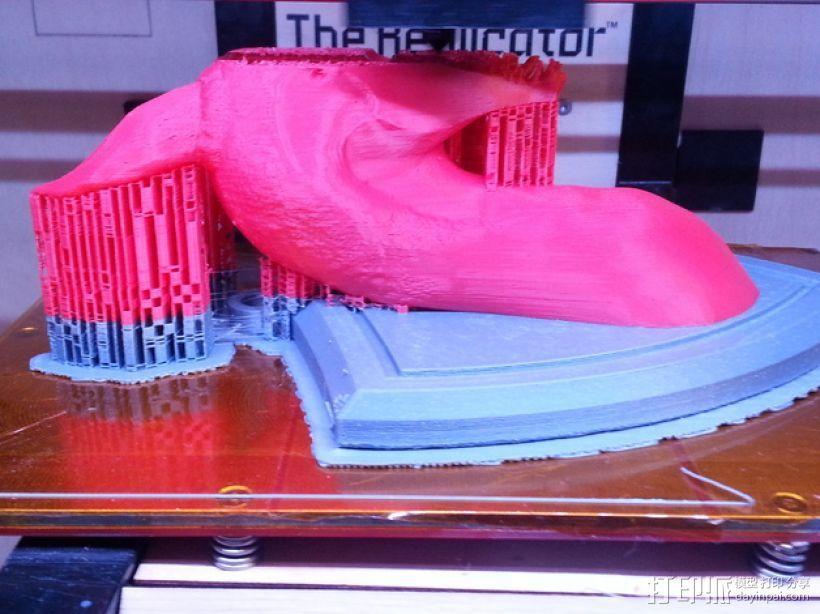 龙头壁挂 3D模型  图5