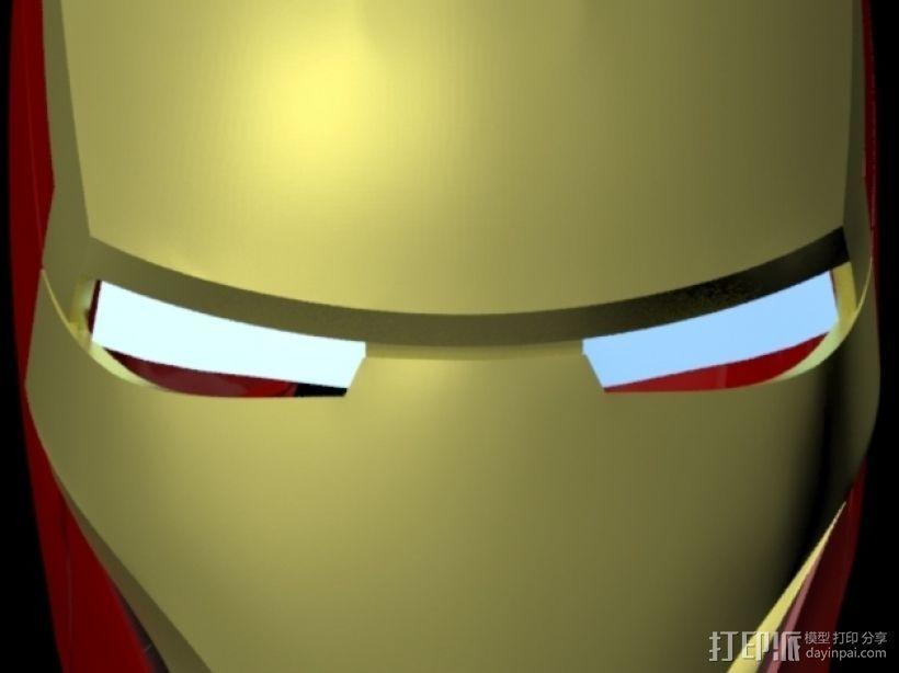 钢铁侠头盔 3D模型  图1