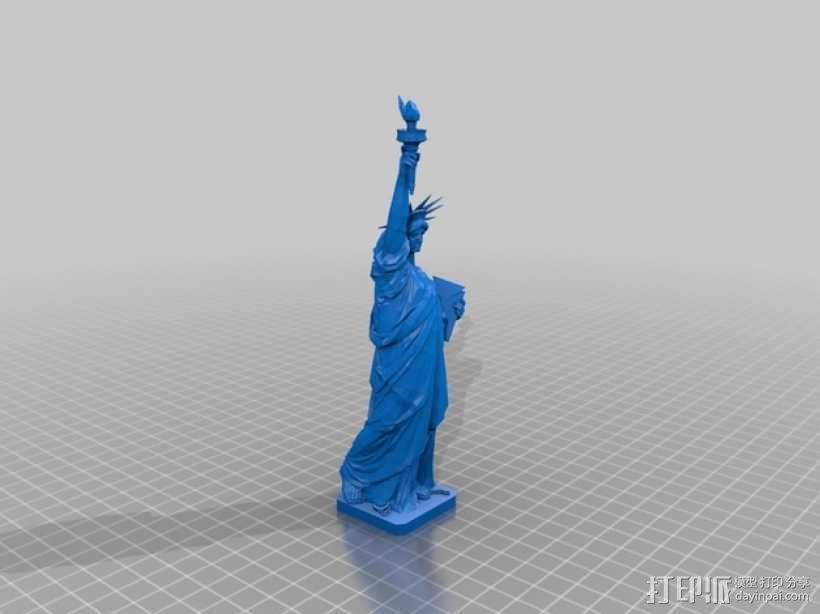 自由女神像3D模型 3D模型  图1