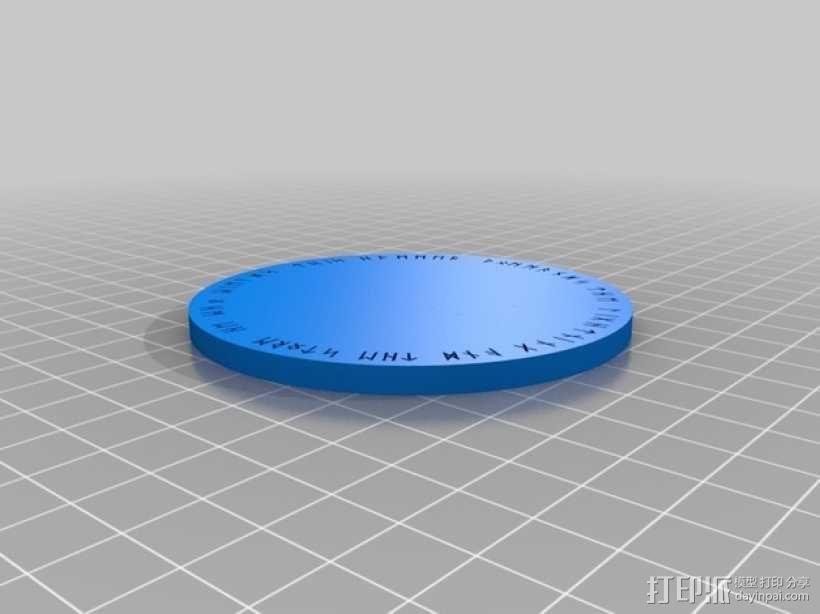 雷神之锤 锤头 3D模型  图2