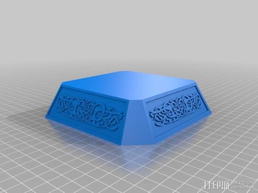 雷神之锤 锤头 3D模型  图3
