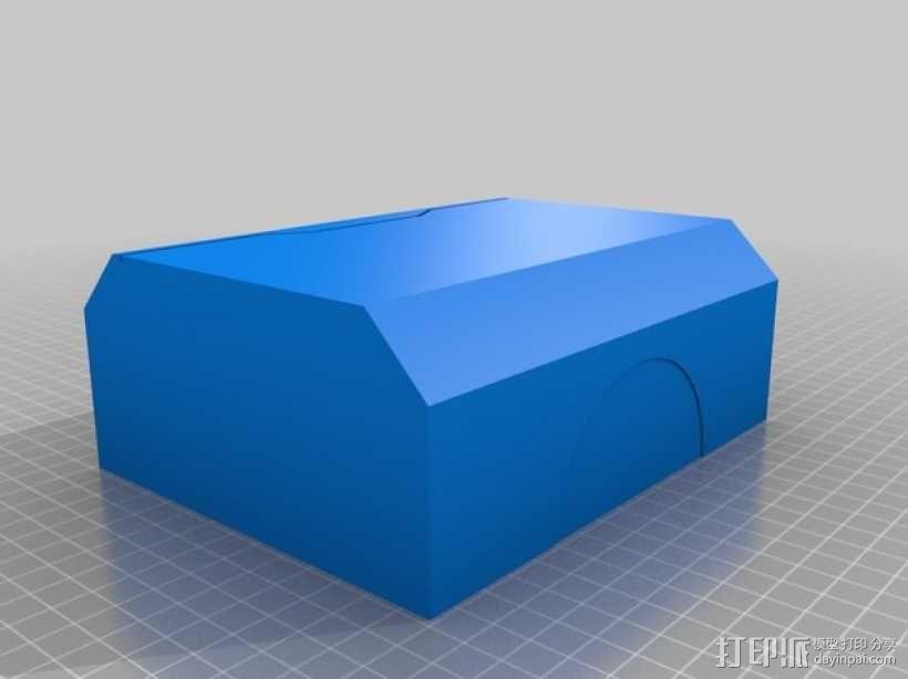 雷神之锤 锤头 3D模型  图4