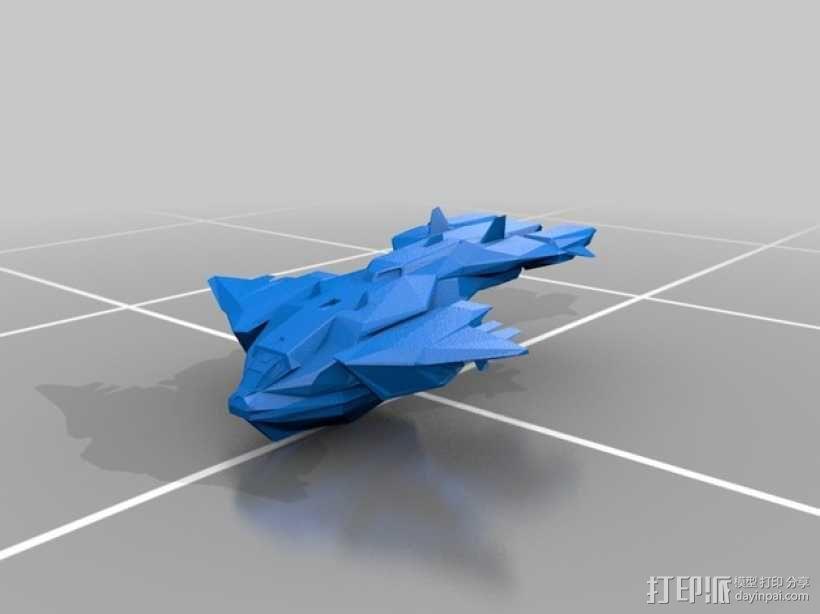 鹈鹕运输机 3D模型  图1