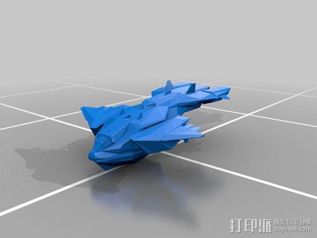 鹈鹕运输机 3D模型  图2