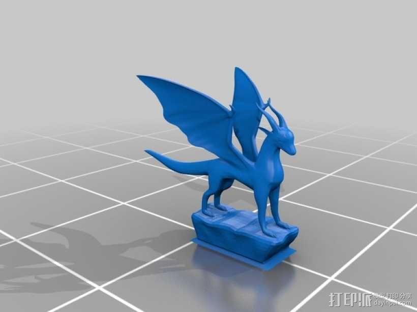 麒麟模型 3D模型  图1