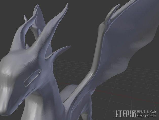 麒麟模型 3D模型  图5