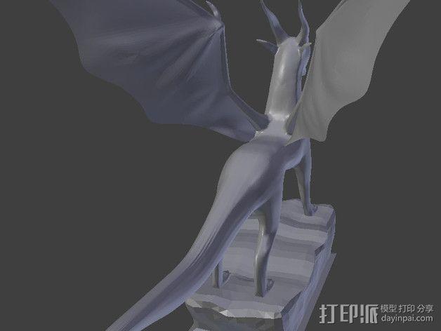麒麟模型 3D模型  图4