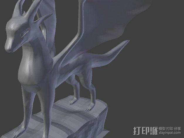 麒麟模型 3D模型  图2