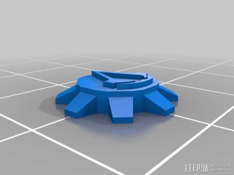 刺客信条臂剑 3D模型  图1