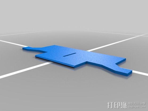 刺客信条臂剑 3D模型  图2