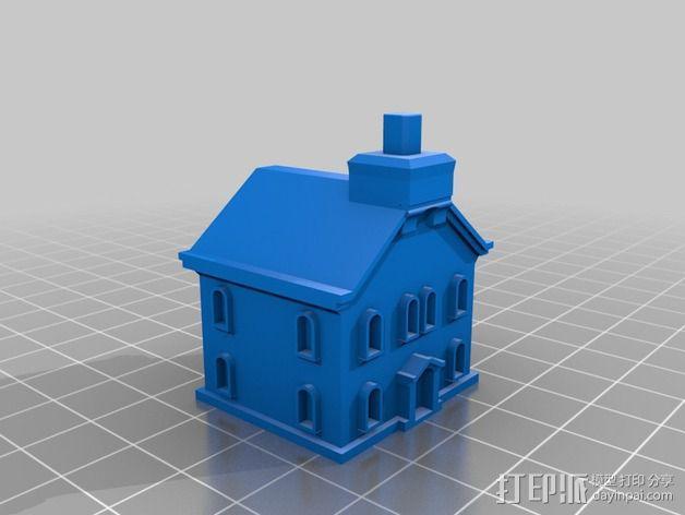 格林威治天文台 3D模型  图4