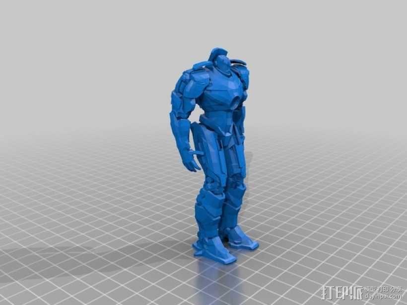 吉普赛人机器人 3D模型  图1