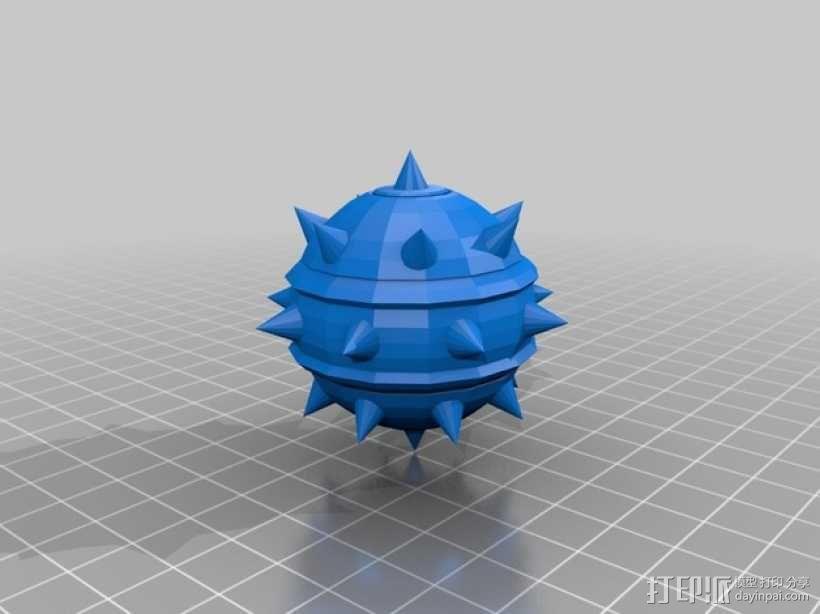 炸弹模型 3D模型  图1