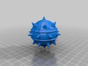 炸弹模型 3D模型