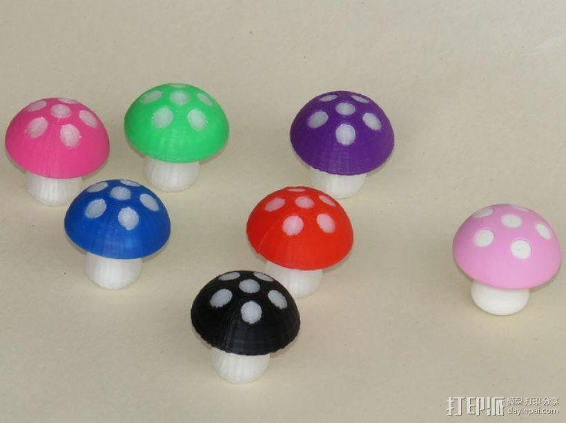 蘑菇 3D模型  图1