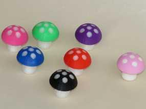 蘑菇 3D模型