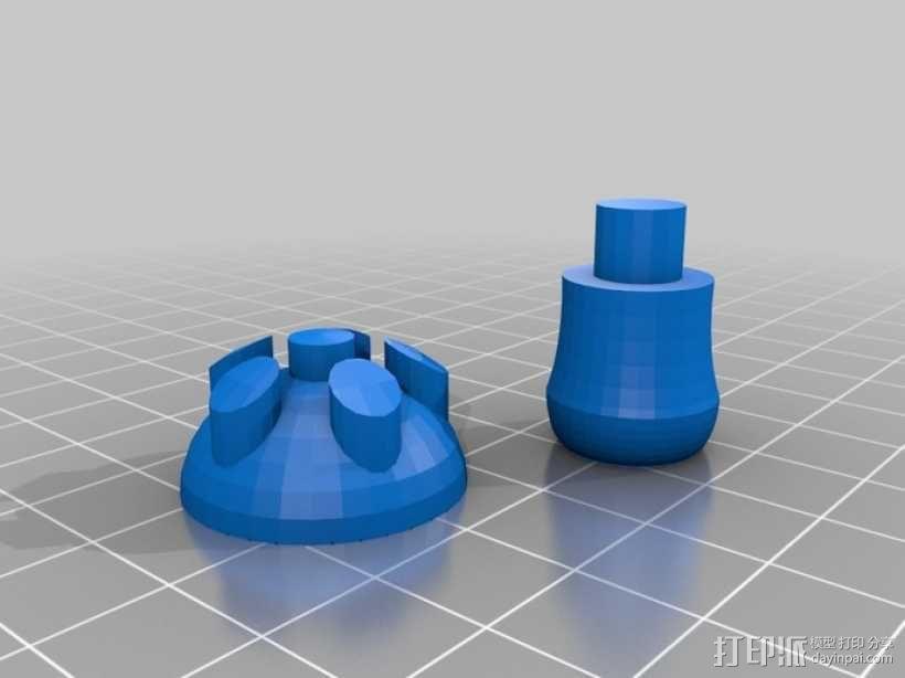 蘑菇 3D模型  图4