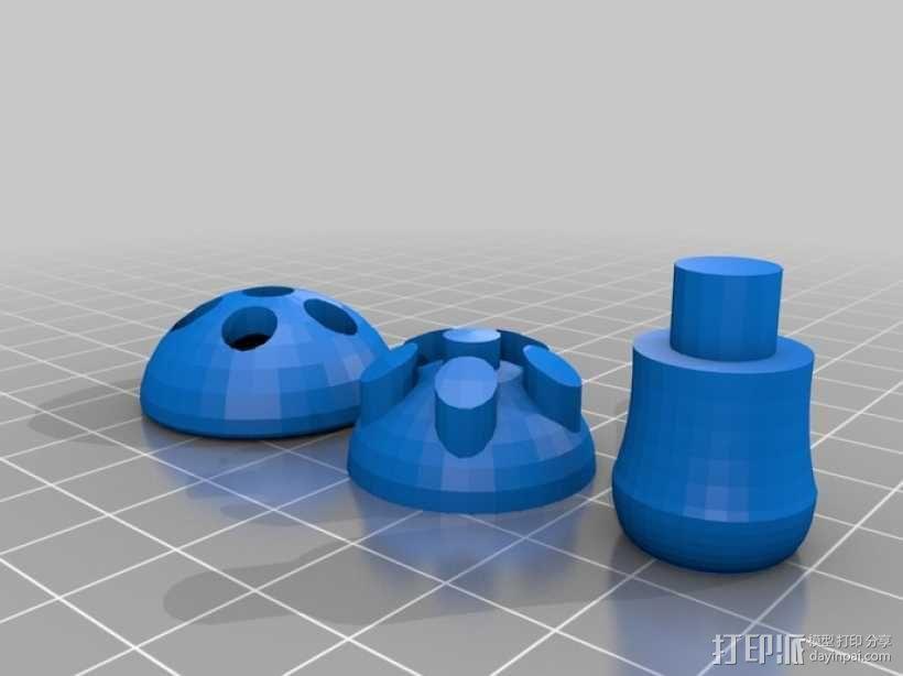 蘑菇 3D模型  图5