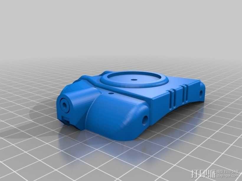 Pip-Boy手腕电脑推手板 3D模型  图1