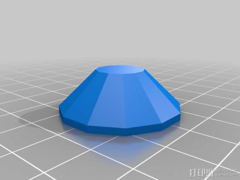 Pip-Boy手腕电脑推手板 3D模型  图2