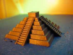 奇琴伊察塔 3D模型