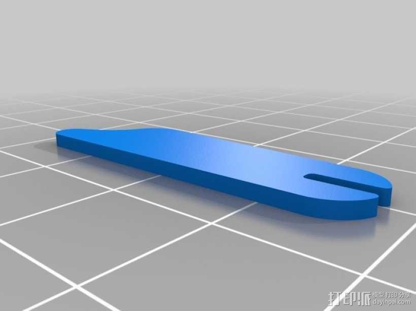 拼图鹰 3D模型  图7