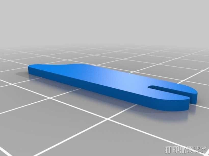 拼图鹰 3D模型  图10