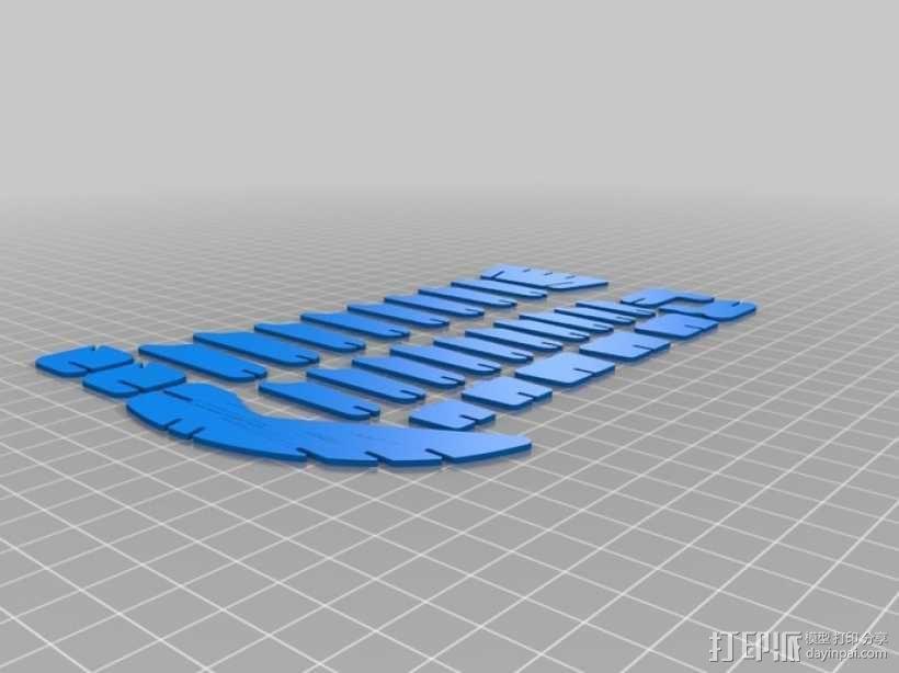 拼图鹰 3D模型  图12