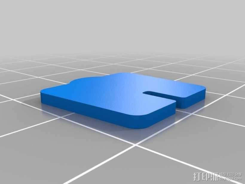 拼图鹰 3D模型  图31