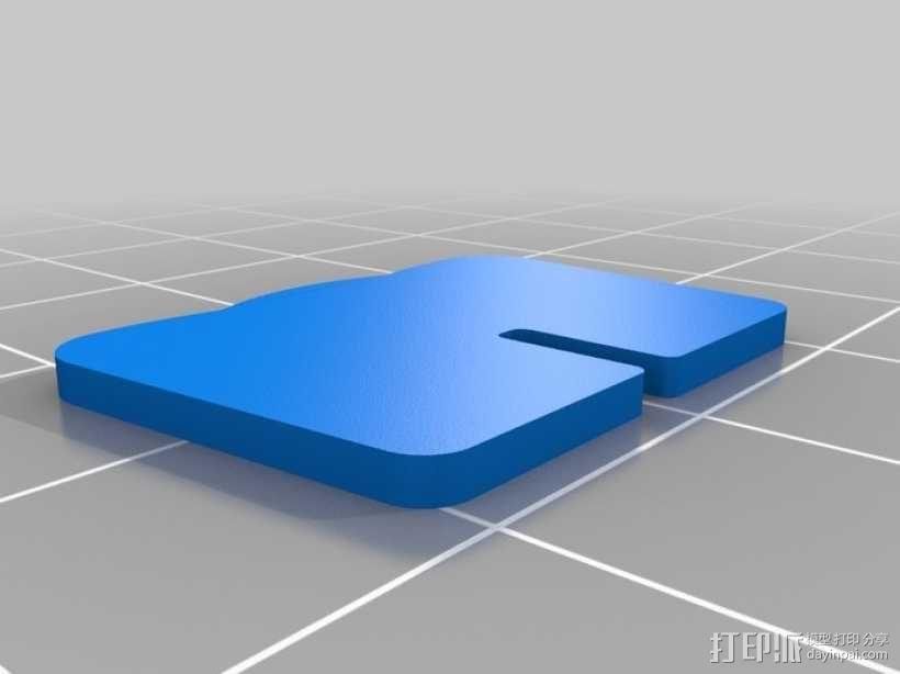 拼图鹰 3D模型  图46