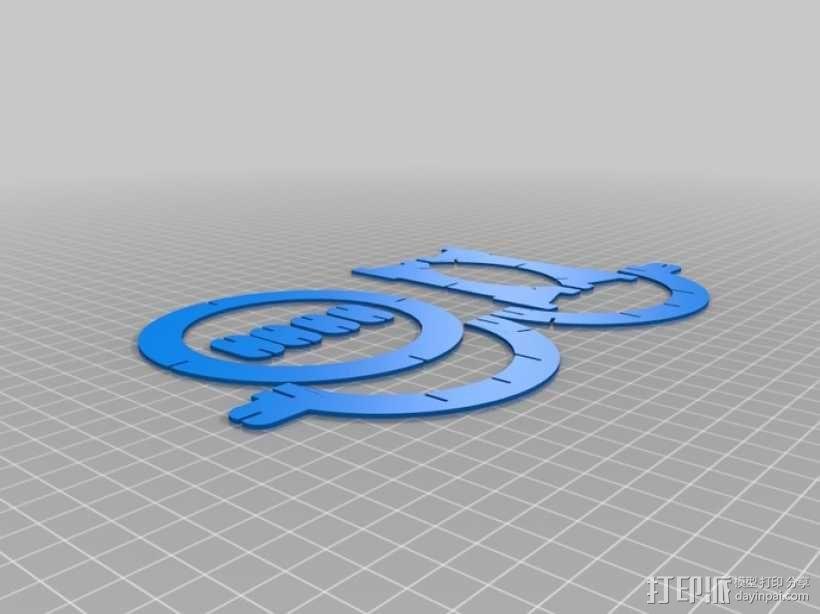 拼图鹰 3D模型  图48
