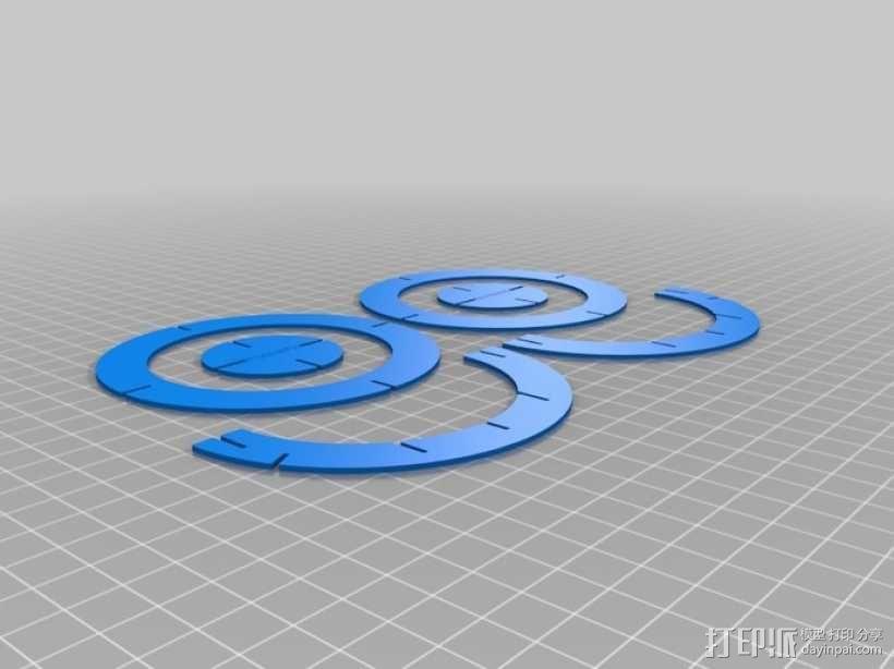 拼图鹰 3D模型  图49