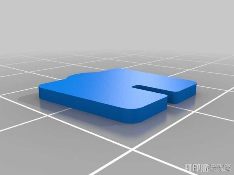 拼图鹰 3D模型  图53