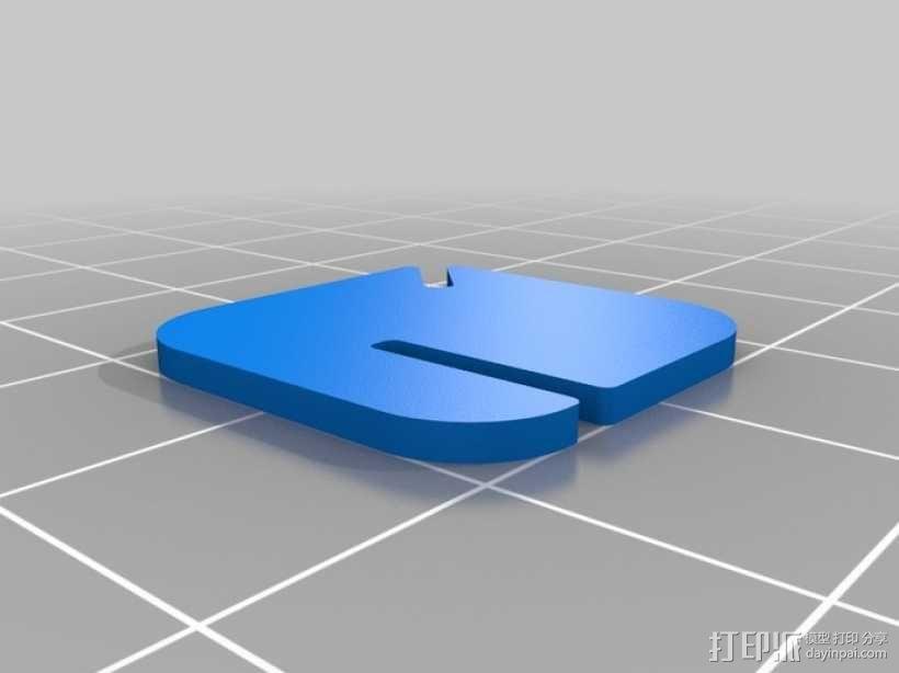 拼图鹰 3D模型  图60