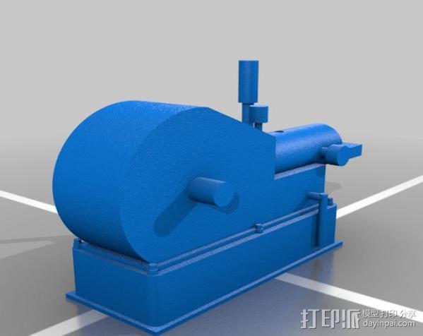 Hit and Miss发动机 3D模型  图3