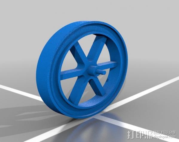Hit and Miss发动机 3D模型  图5