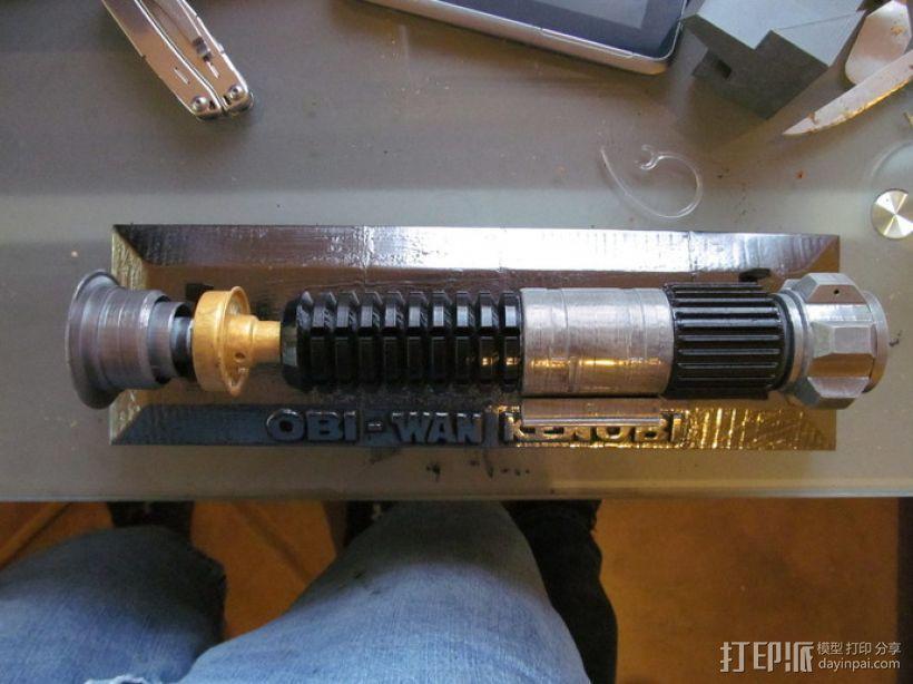 Obi-Wan Kenobi的光剑 3D模型  图3